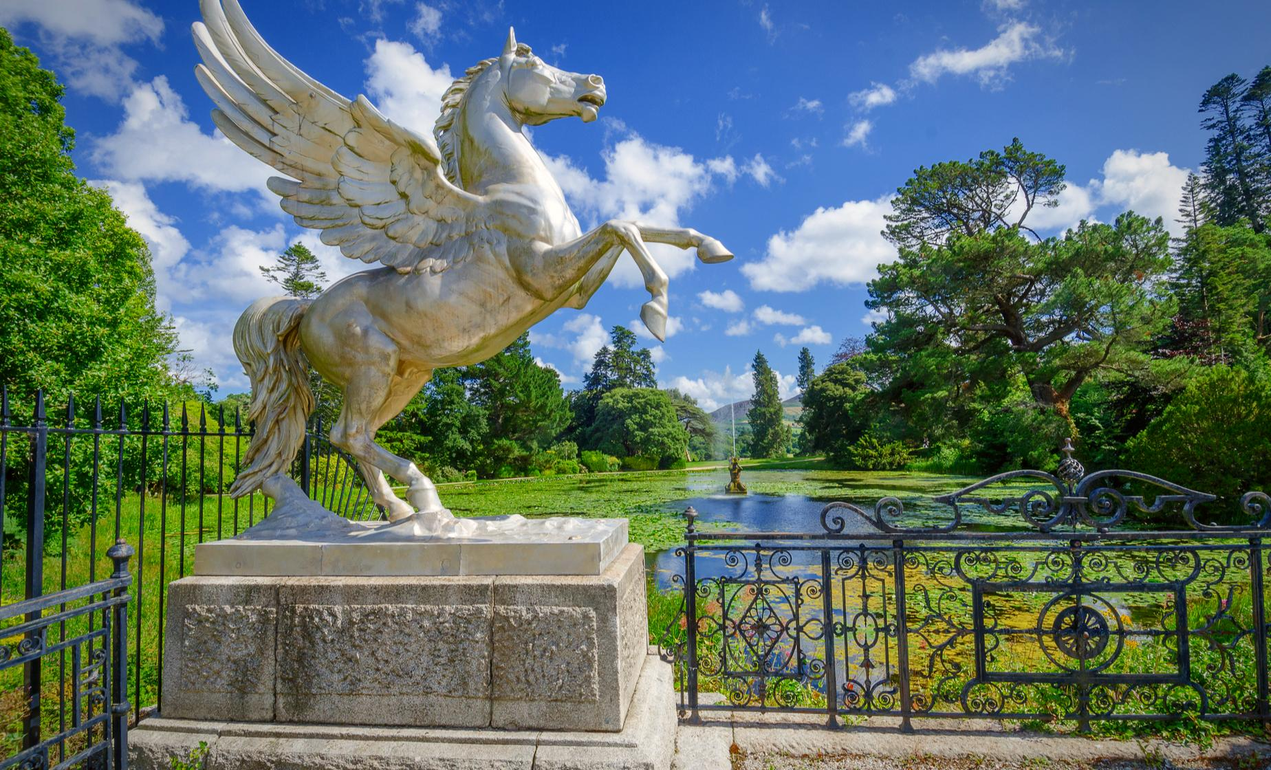 Private Powerscourt and Dublin City Tour (Sugarloaf Mountain)