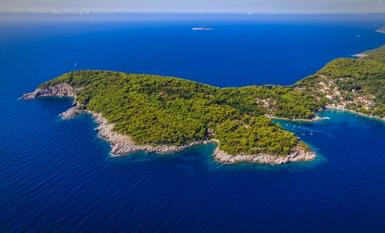 Private Elaphite Islands by Motorboat