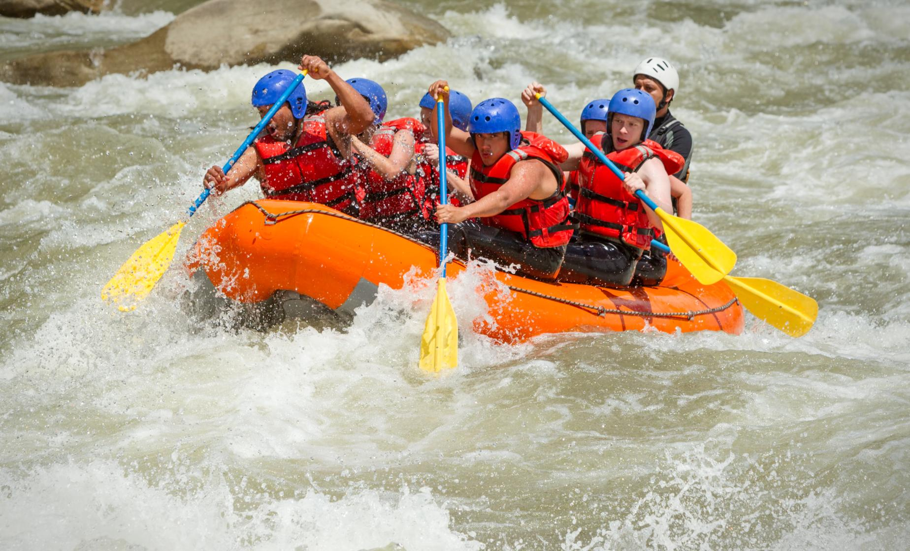 Rafting Adventure on the River Tara