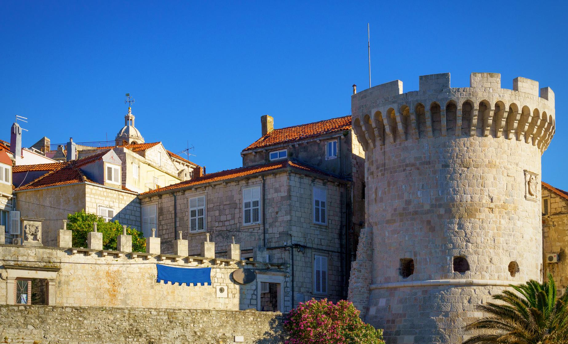 Korcula Island with Wine