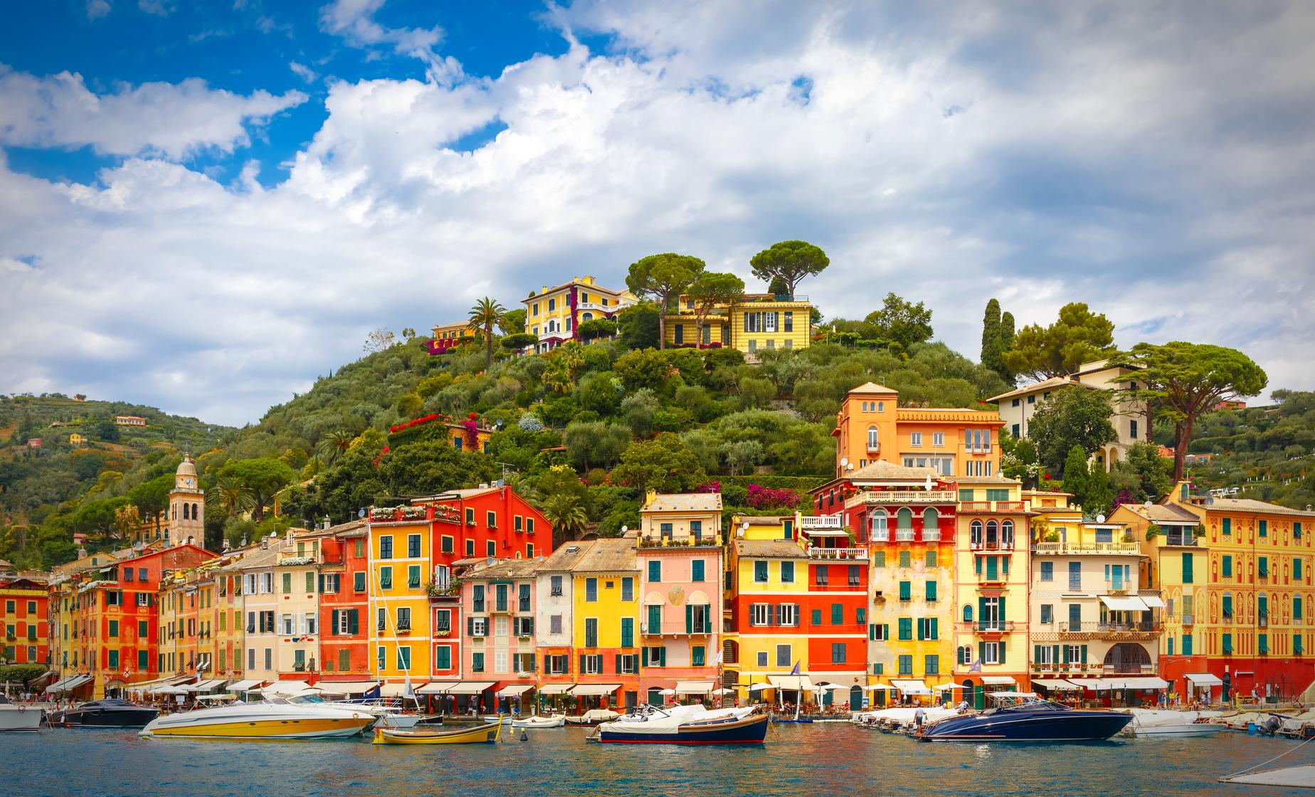 Private Portofino and S Margherita Highlights Tour Driver/Guide