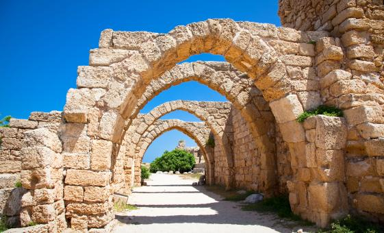 Private Caesarea Maritime - Herod's Dream Tour from Haifa (Via Maris, Roman Theater)
