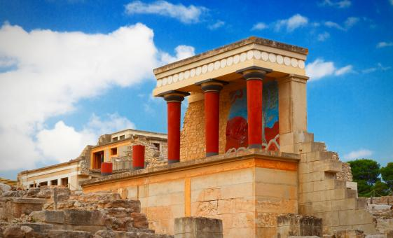 Private Knossos and Boutari Winery Group Tour from Heraklion (Archanes)
