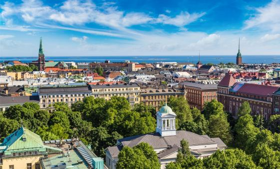 Panoramic Helsinki by Double-Decker Bus