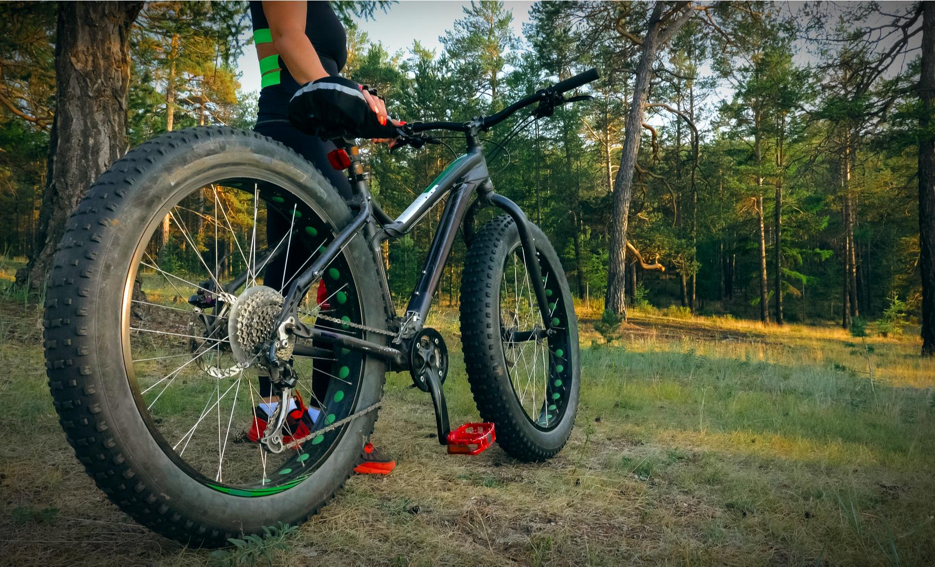 Private Nuuksio Nature by Fatbike