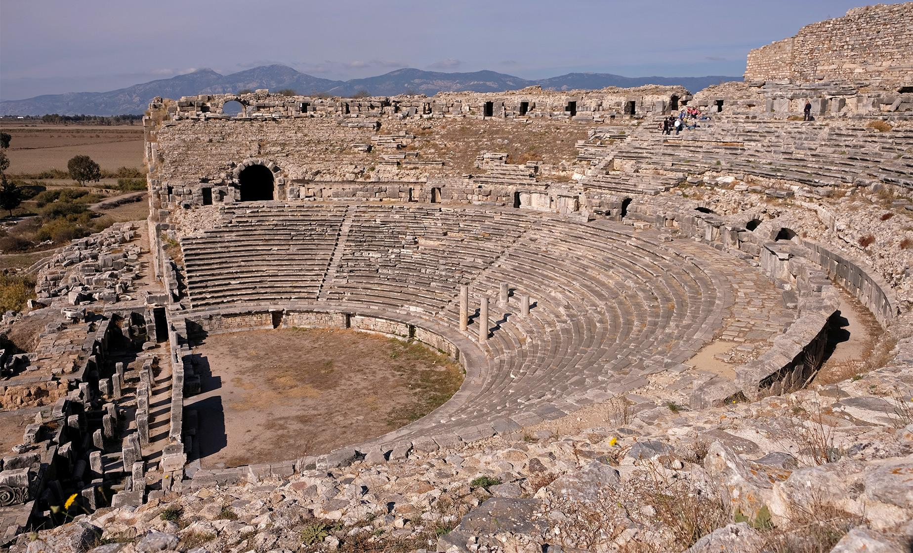 Private Didyma, Miletus and Ancient Ephesus Tour from Izmir (Odeon, the Upper Agora)