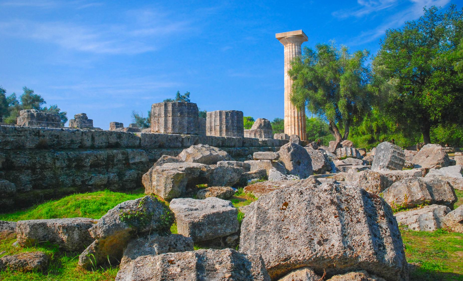 Ancient Olympia On Your Own