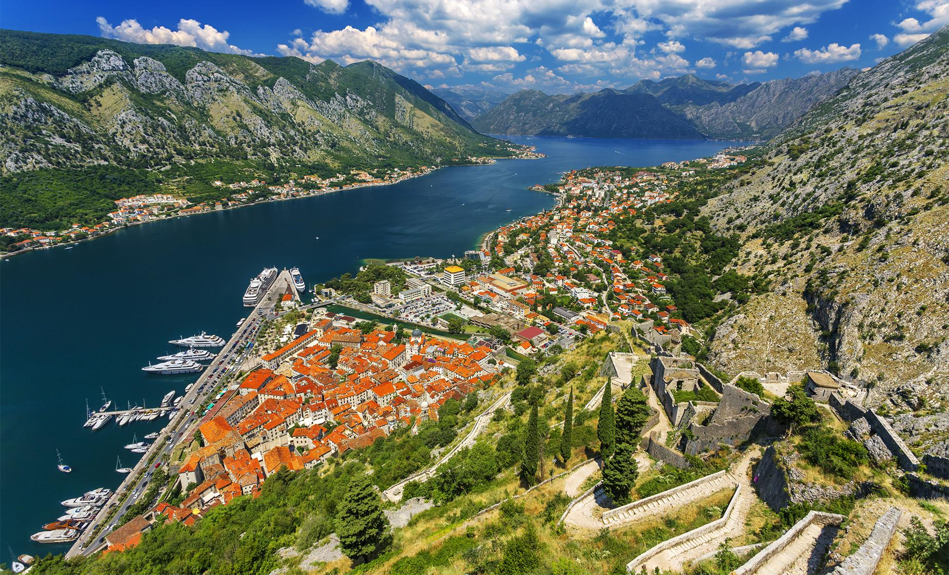 Kotor Above the Clouds