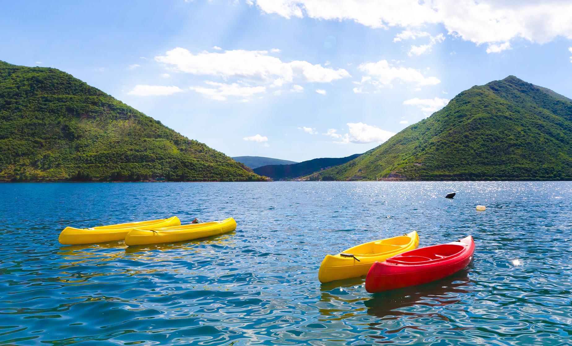 Kotor Bay's Beauty by Kayak