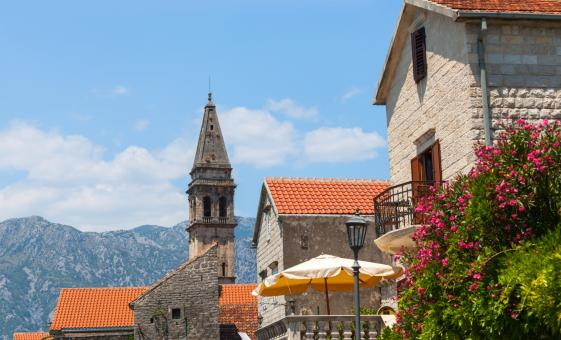 Town of Perast by Land