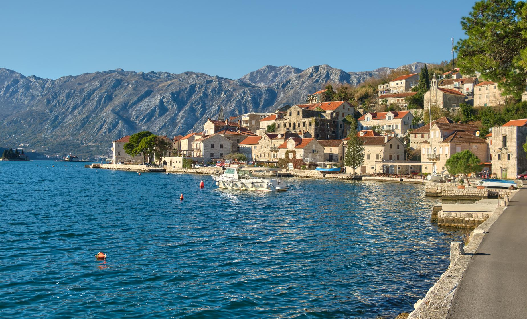 Town of Perast by Sea