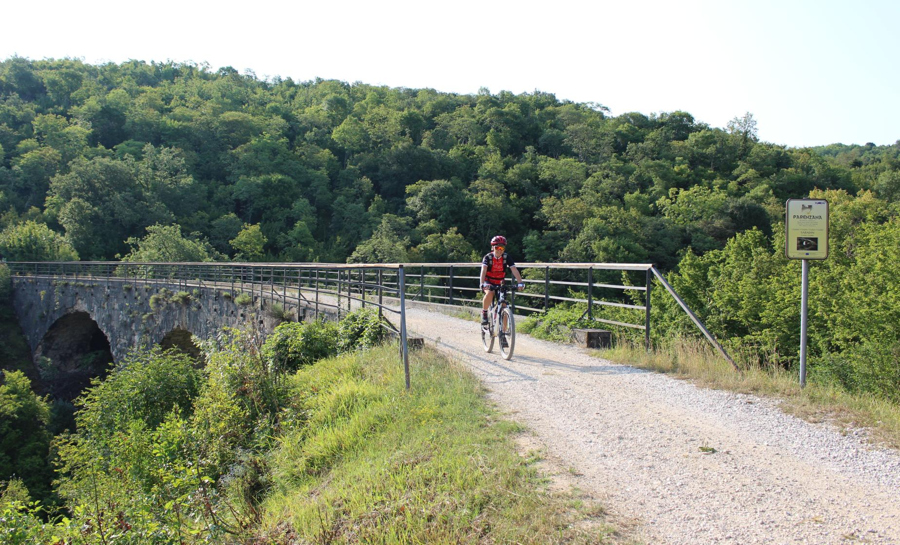 Biking the Parenzana Trail