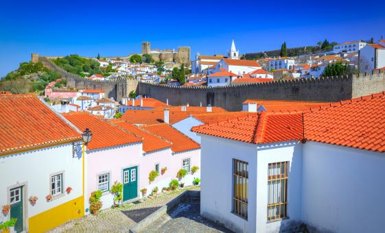 Romantic Obidos and Foz do Aelho Beach