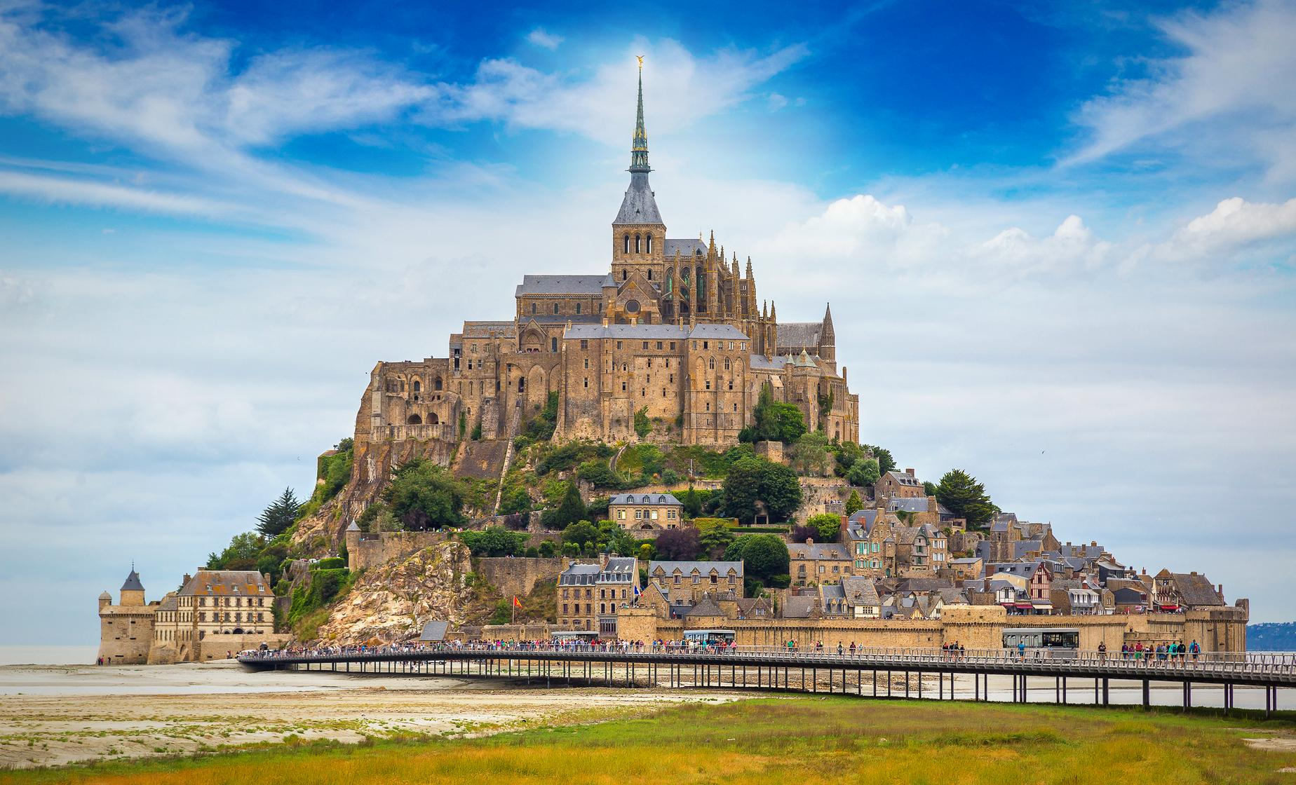 Private Mont Saint Michel and Honfleur