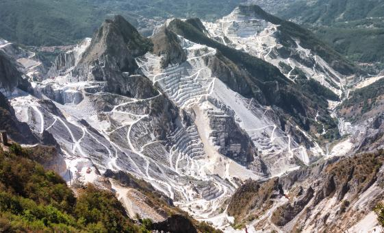 Private Carrara Marble Tour by 4x4