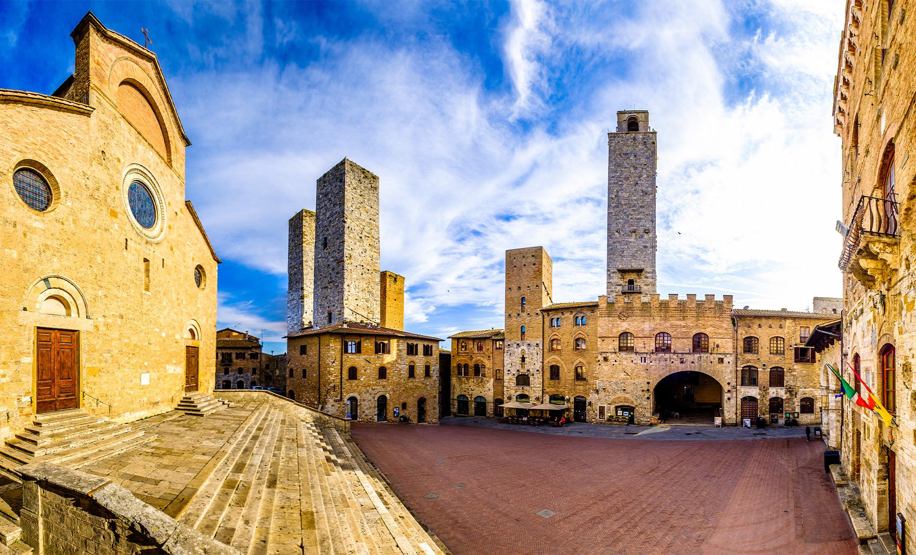 Private Siena and San Gimignano Highlights Tour