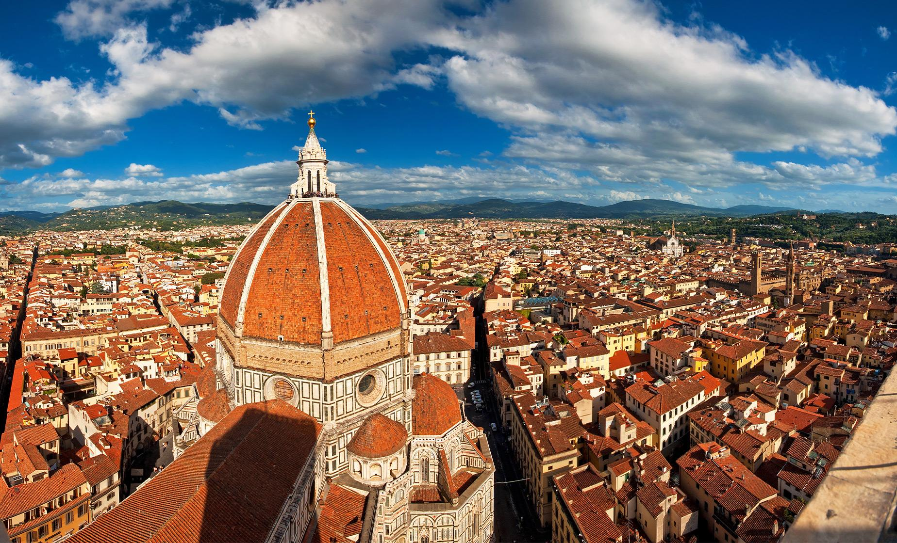 Florence and Pisa Private Shore Trip to Piazza del Duomo and Square of Santa Croce