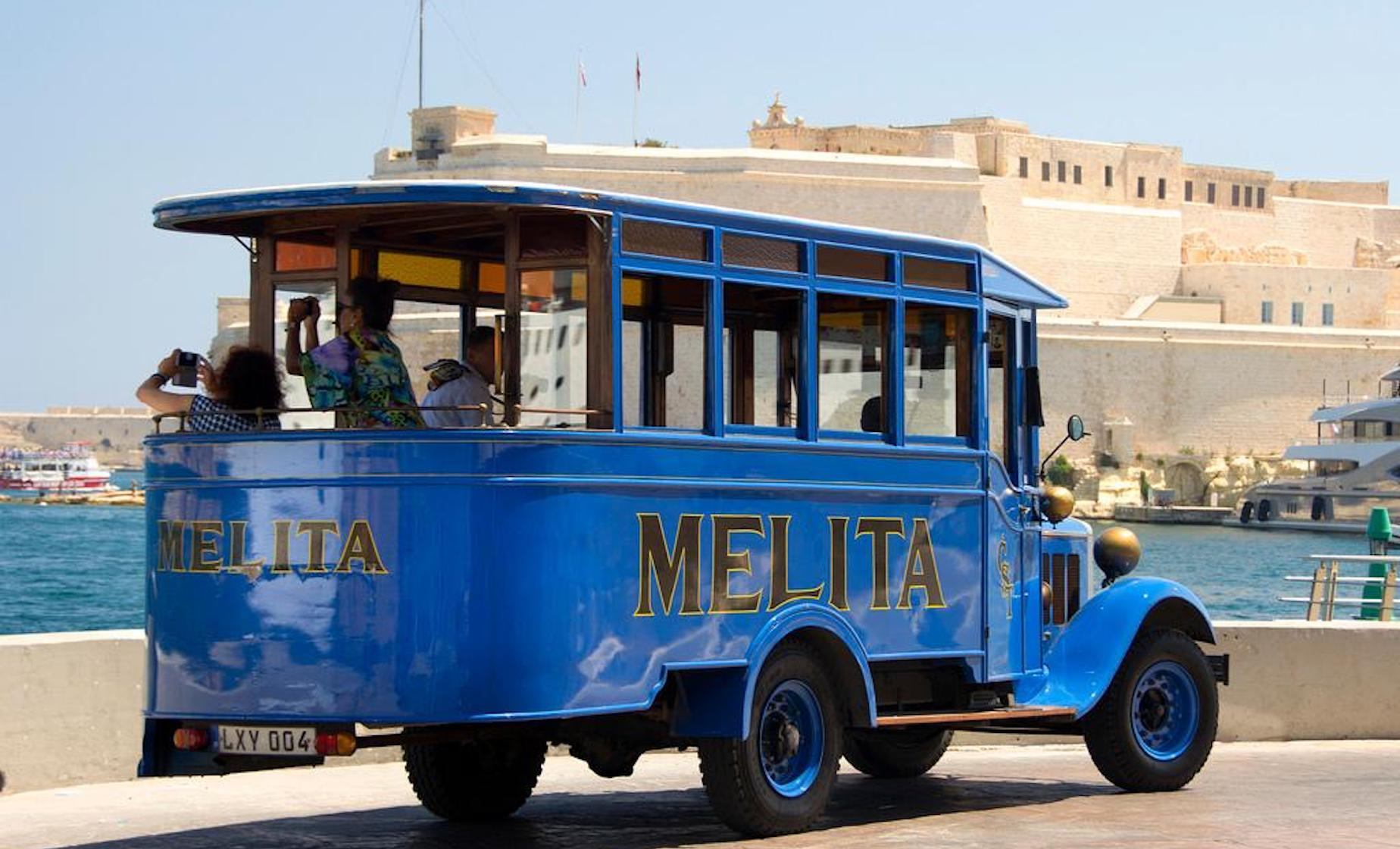 Private Scenic Malta By Vintage Bus