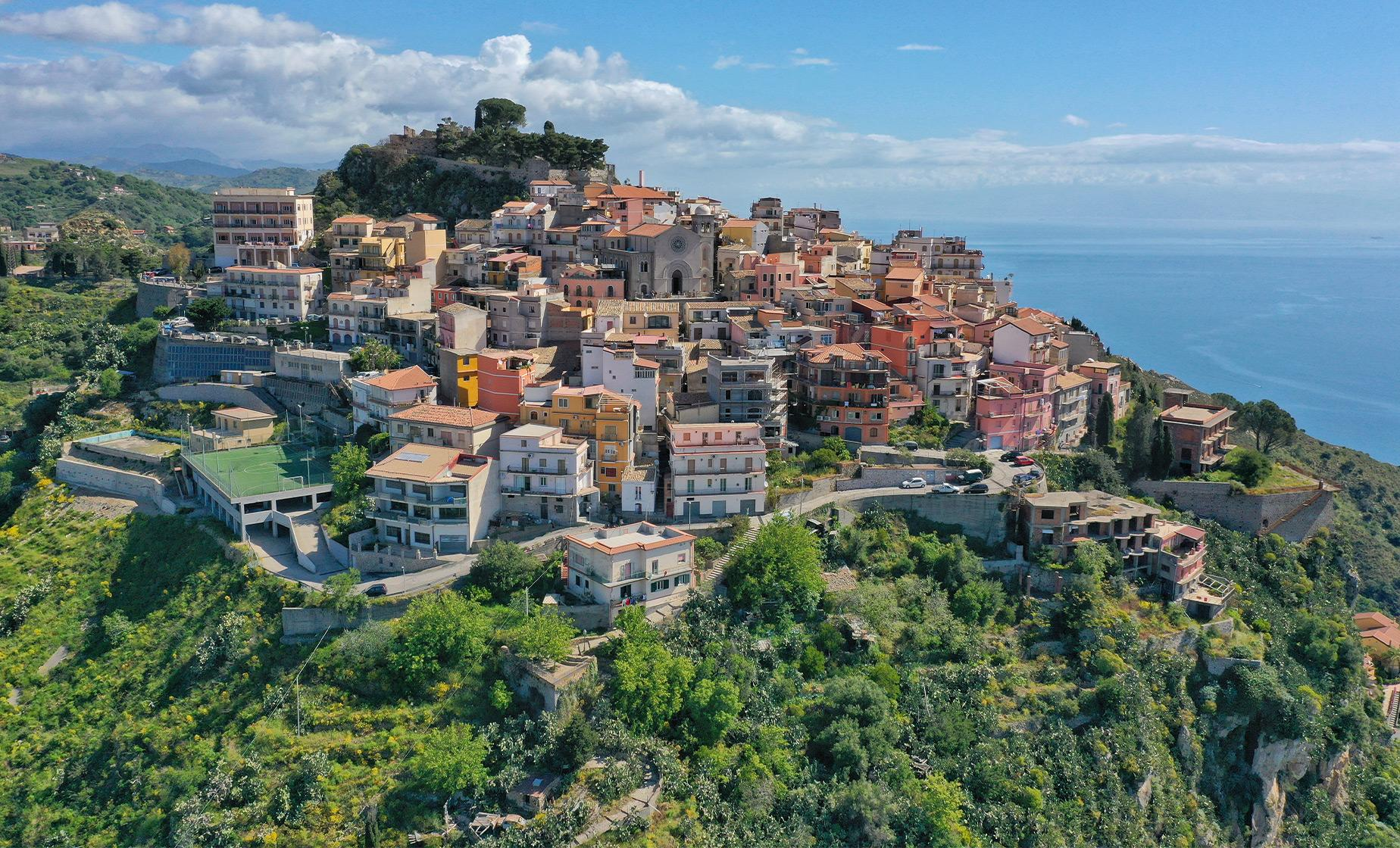 Castelmola and Taormina