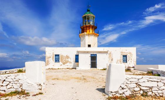 Armenistis Lighthouse Visit
