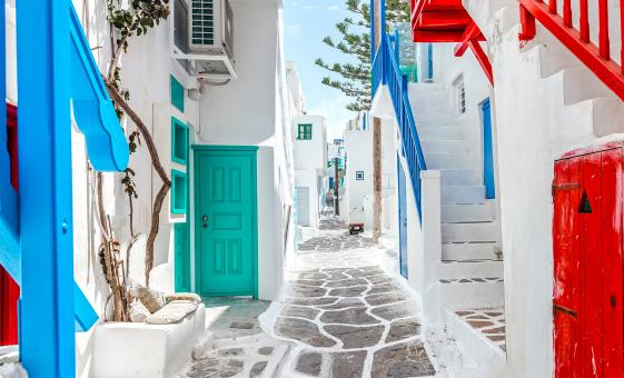 Exclusive Old and New Mykonos Tour (Kalafatis Beach, Ano Mera, Church of Panagia Paraportiani)