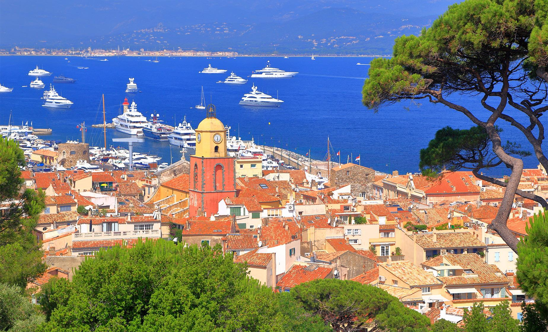 Saint Tropez with Boat Ride