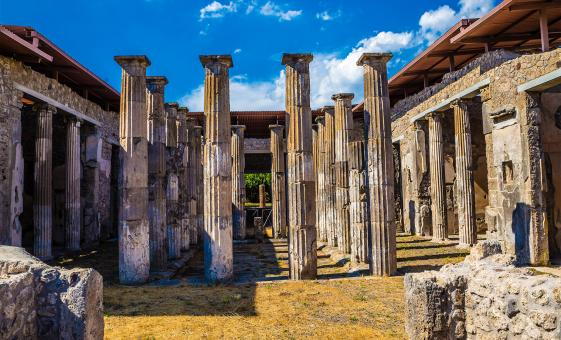 Fascinating Herculaneum & Pompeii City Tour from Naples