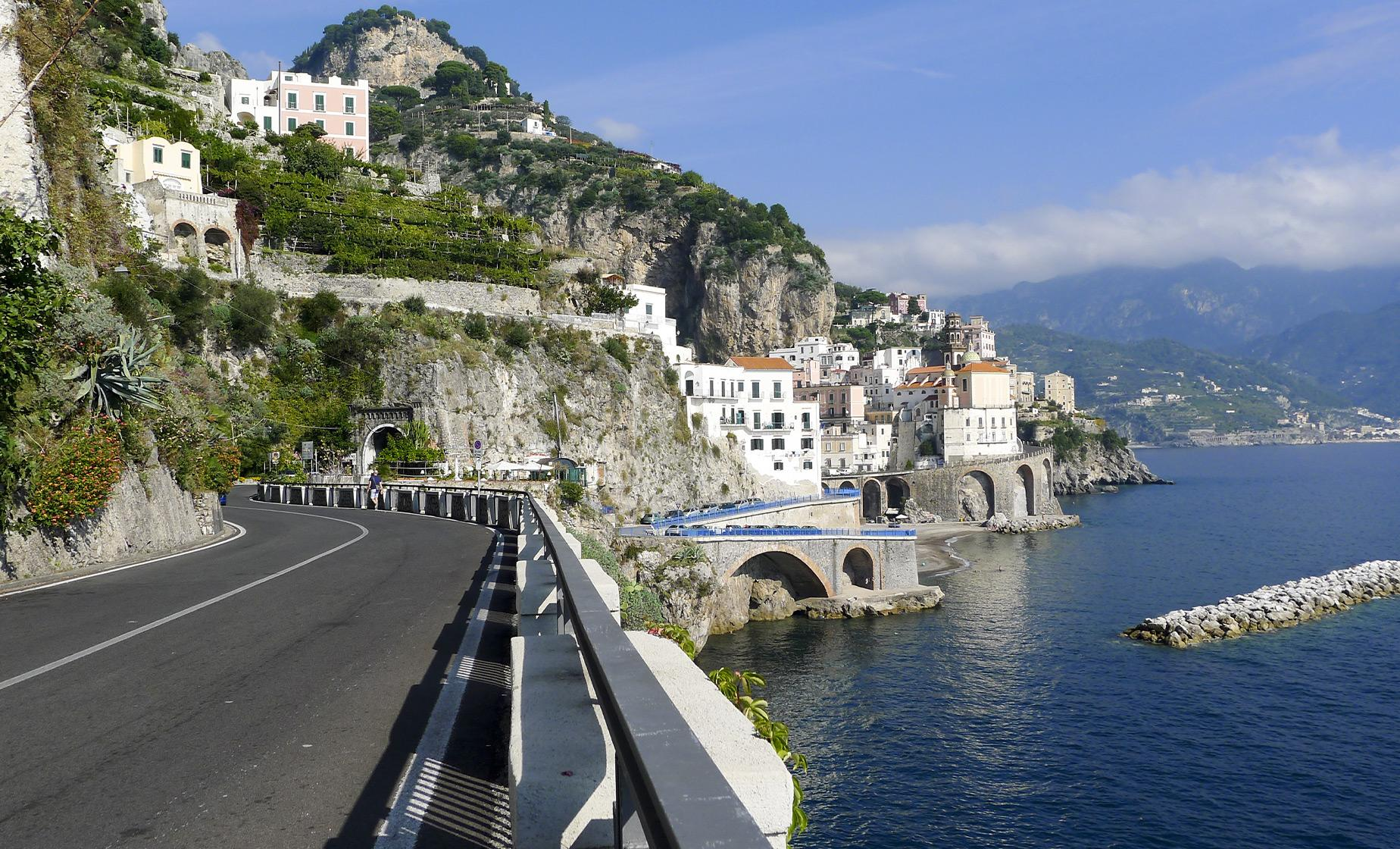 Amalfi Coast Drive, Lunch and Boat Ride