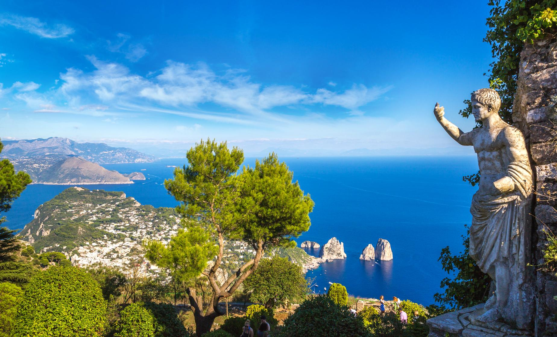 Capri Island and Blue Grotto Experience