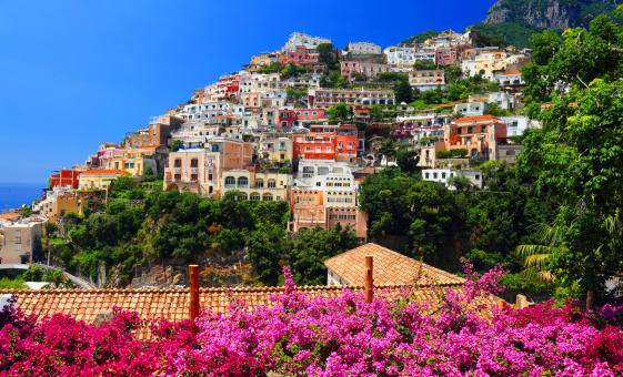 Pompeii and Amalfi Coast Combo Day Tour with Forum and Stabian Baths
