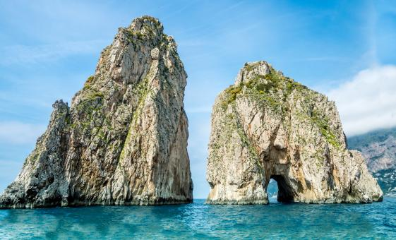 Island of Capri Cruise, Swim with Lunch and Sorrento