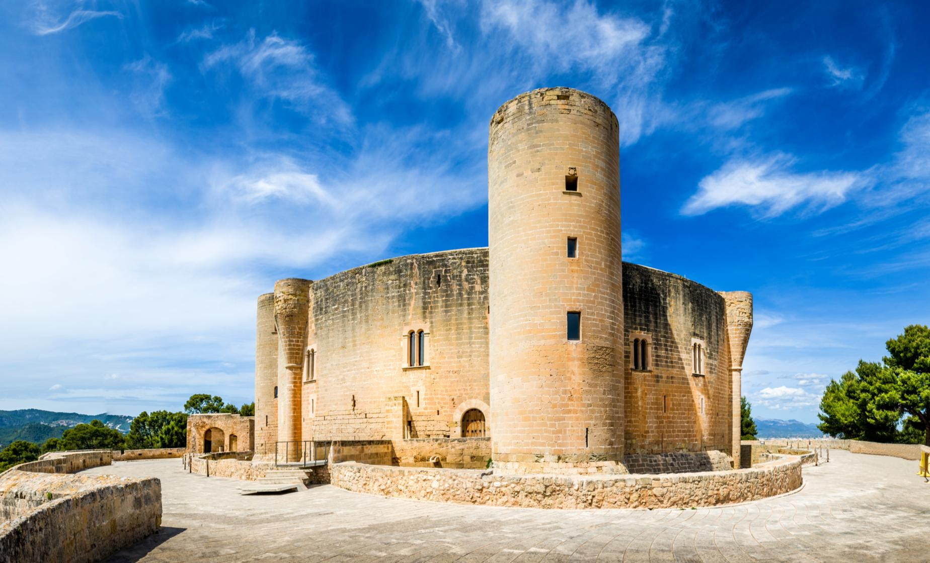 Palma City Sightseeing Hop On Hop Off Bus and Bellver Castle