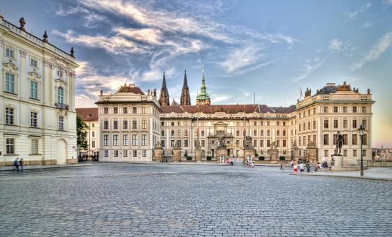 Prague Castle Bike Tour