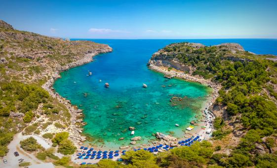 Cruise to Anthony Quinn, Kallithea and Traganou Caves