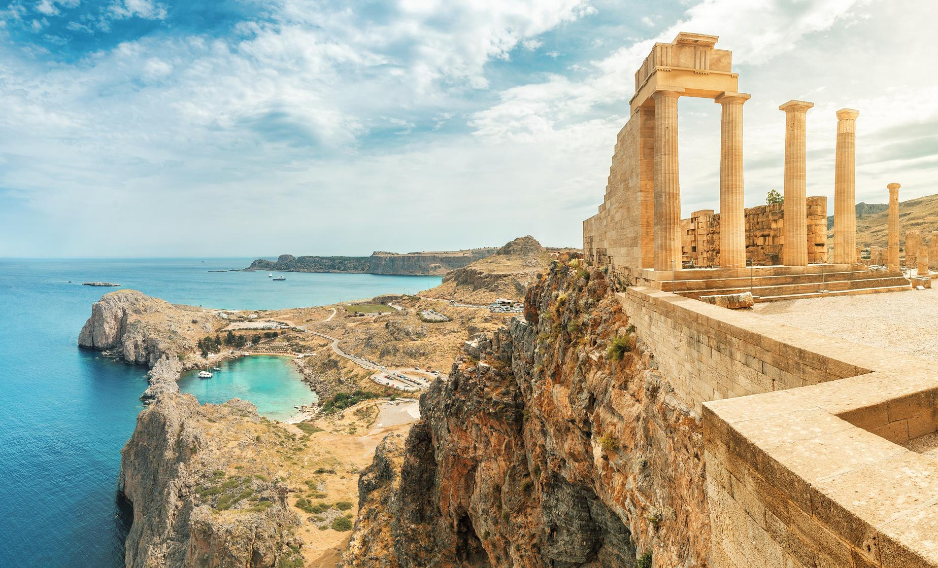 Ancient Lindos and Acropolis