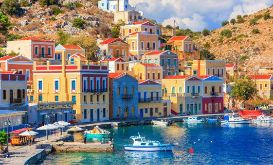 Island of Symi and Panormitis Monastery