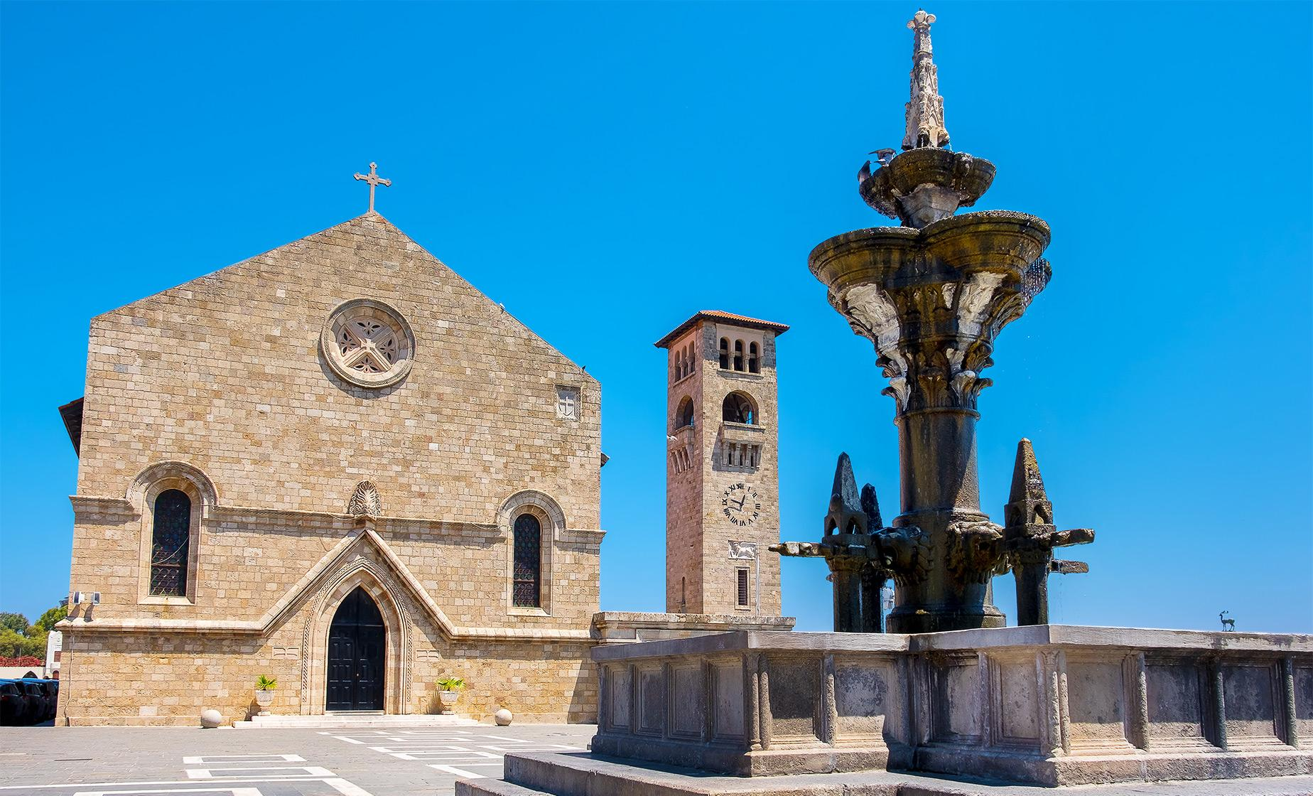 Private City Tour Shore Excursion In Rhodes
