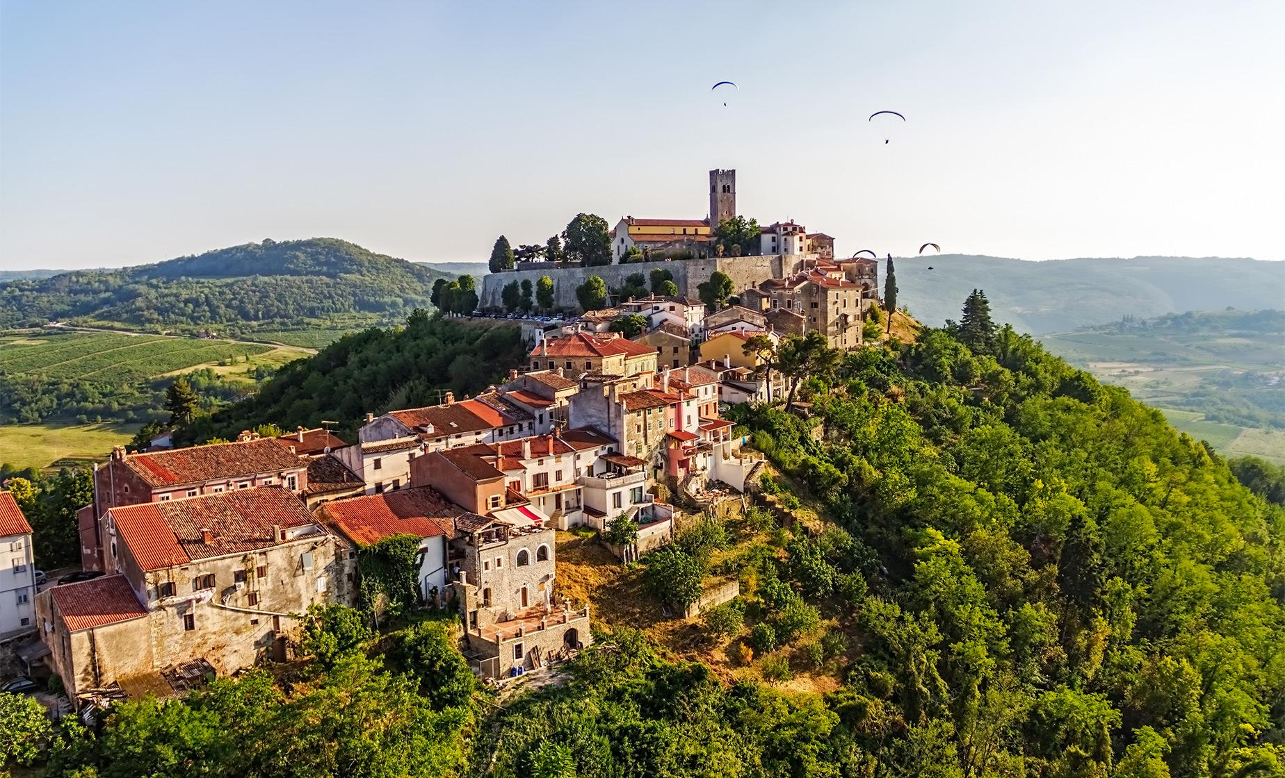 Highlights of Istria-Hum, Motovun and Labin