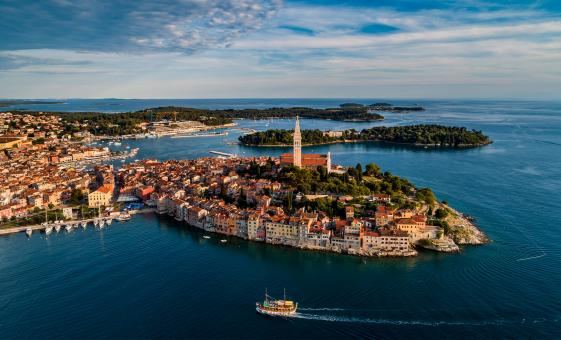 Pula, Rovinj and Panoramic Istrian Coast