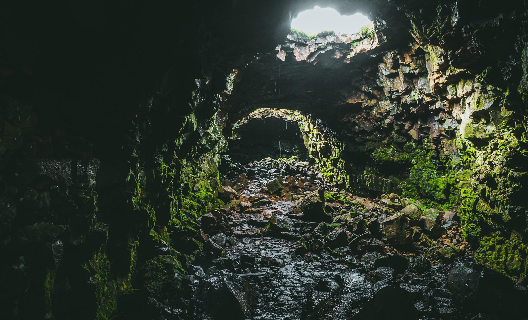 Lava Cave Adventure