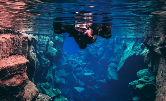 Snorkel Silfra Fissure in Thingvellir National Park Tour