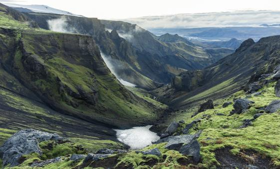 4x4 Jeep and hike to Icelandic volcanoes, glaciers, waterfalls