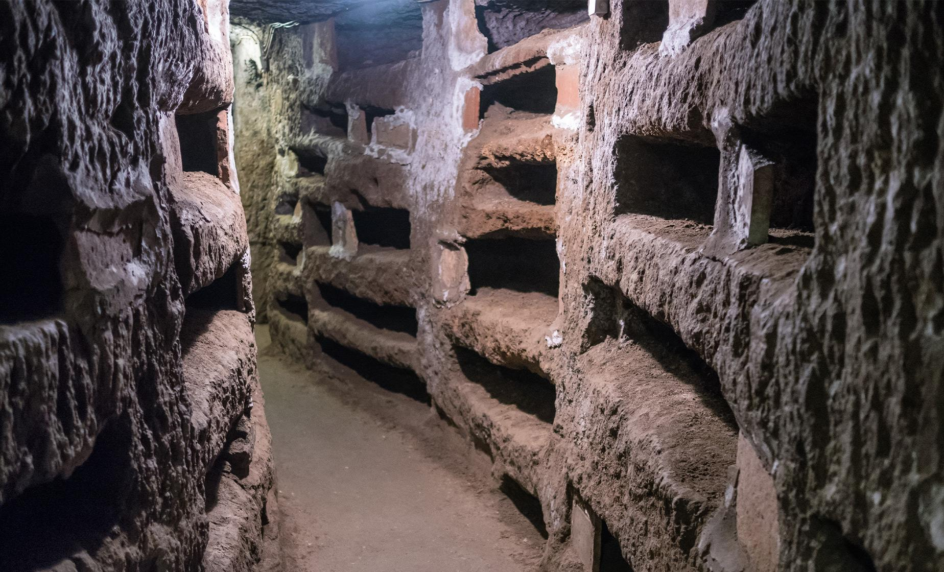 Catacombs, Aqueducts & Appian Way Walking Tour in Rome