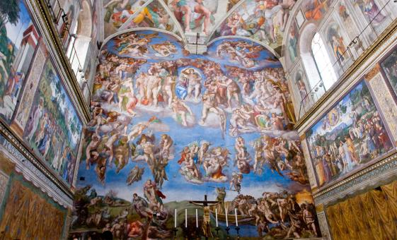 Semi Private Cruise Tour of St. Peter's Basilica, the Sistine Chapel & the Vatican Museum