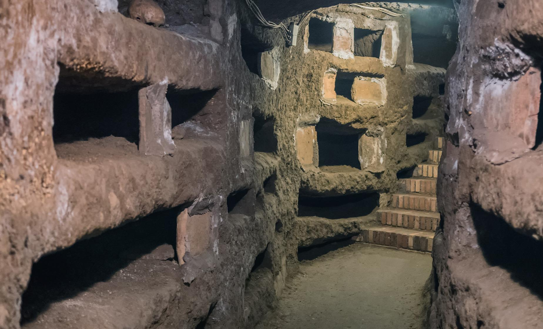 Ancient Roman Burial Catacombs & Underground Rome Excursion