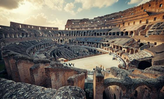 Inside the Colosseum & Imperial Rome Day Tour with Aventine Hill