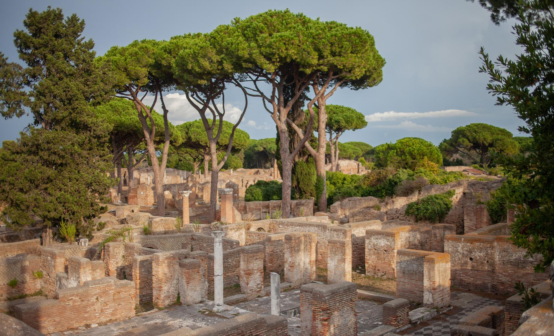 Ostia Antica & Ancient Tiber River Cruise Tour in Rome