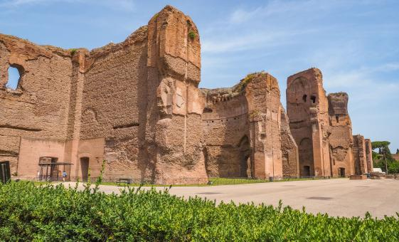 Rome Castles Shore Trip in Rome with Appian Way and Baths of Caracalla