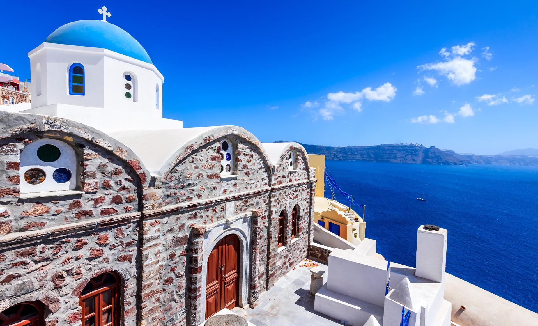 Private Best of Secret Santorini with Wine and Meze