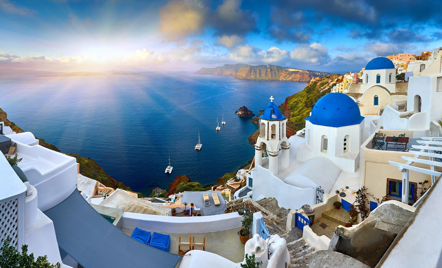 Private Guided Highlights of Santorini
